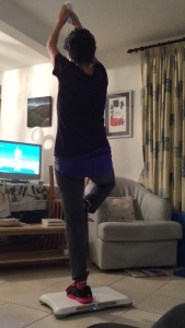 yoga with Wii